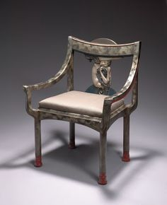 Aestheticus Rex: Of Serpents and Sirens: Rare Eileen Gray Chair on the Block at Christie's Mcm Furniture, Art Deco Furniture, Furniture Design, Furniture Ideas, Eileen Gray, Grey Chair, Armchair, Settee, Decoration