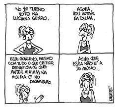 Eleições 2014: Cartunista Laerte manifesta apoio a Dilma em quadrinho - Terra Brasil