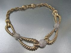 1950s Marcel Boucher massive gold plated by RetroModernista, €230.00