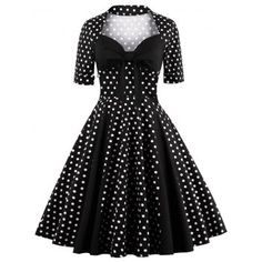 SHARE & Get it FREE | Sweetheart Neck Polka Dot Vintage DressFor Fashion Lovers only:80,000+ Items·FREE SHIPPING Join Dresslily: Get YOUR $50 NOW!