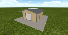 3D #architecture via @themuellerinc http://ift.tt/2b8uo9V #barn #workshop #greenhouse #garage #DIY