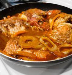 BROWN STEW FISH (fish and gravy) recipe gateway: this post's link + www. BROWN STEW FISH (fish and gravy) recipe gateway: this post's link + www Jamaican Cuisine, Jamaican Dishes, Jamaican Recipes, Stew Fish Recipe Jamaican, Bahamian Stew Fish Recipe, Jamaican Escovitch Fish Recipe, Jamaican Stew Peas, Jamaican Brown Stew Chicken, Dessert