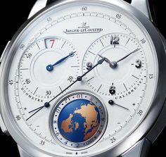 Часы Jaeger-LeCoultre Duometre Unique Travel Time – Практичная эксклюзивность в любой точке мира   LuxuriousWatches.ru