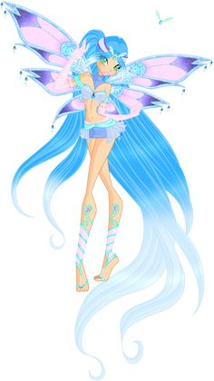 Kailani's Enchantix by WildieWishingStar on DeviantArt Winx Club, Mermaid Barbie, Mermaid Fairy, Tinkerbell Wallpaper, Non Disney Princesses, Las Winx, Pokemon, Types Of Fairies, Fairy Clothes