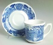 JG Meakin American Heritage Ironstone Cup Saucer Sets