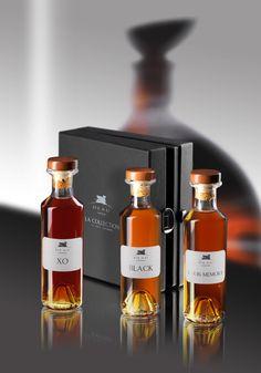 Coffret #Cognac Deau : XO, BLACK et LOUIS MEMORY