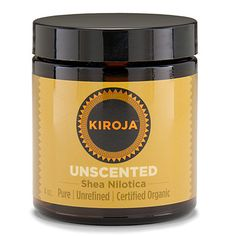 Unscented Shea Nilotica (Certified Organic)
