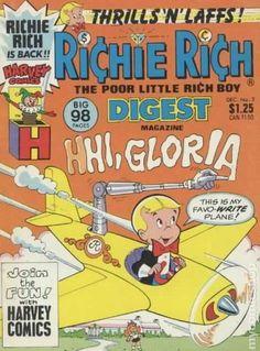 Comic Book Publishers, Comic Books, Richie Rich Comics, Magazin Covers, Magazines For Kids, American Comics, Vintage Comics, Comic Covers, Little Boys