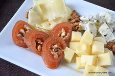 Cas de gutui – rulada cu nuci Romanian Food, Fruit Salad, Waffles, Appetizers, Gem, Cooking, Breakfast, Recipes, Diana