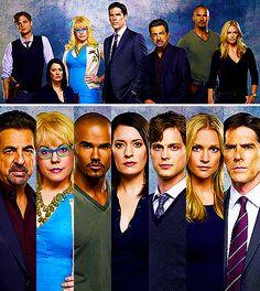 Criminal Minds-Joe Montangna, Kirsten Vangness, Shamar Moore, Paget Brewster, Matthew Grey Gubler, A.J Cook, Thomas Gibson