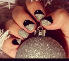 Super cute nails for the holidays!!