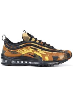Shop online brown Nike Air Max 97 Premium QS Country Camo sneakers as well as new season, new arrivals daily. Air Max 97, Nike Air Max, Moda Sneakers, Brown Sneakers, Off White Trainers, Jimmy Choo, Ar Max, Nike Brown, Mens Designer Shoes
