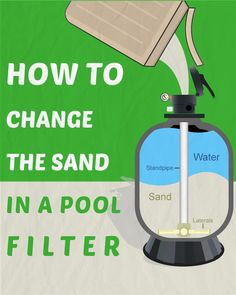 Are you ready to change the sand in your filter? Has it been about 3 to 5 years since you or someone else has done it? Ok, let's get started.