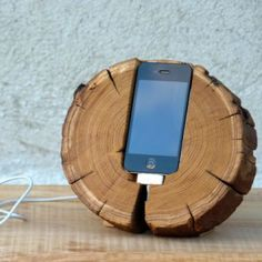 Rustic Wooden Iphone Docks - 1uptreasures.com