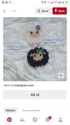 Hama Beads Patterns, Beaded Jewelry Patterns, Beading Patterns, Seed Bead Projects, Beading Projects, Beaded Skull, Beaded Brooch, Iron Beads, Melting Beads