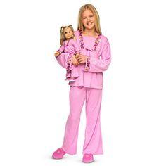 American Girl® Clothing: Julie's Pajamas for Dolls & Girls for Skyler