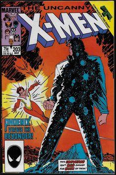 The Uncanny X-Men #203 NM 9.4 Marvel 1986 Phoenix Beyonder Secret Wars tie-in