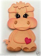 Baby Fazenda Porco PREMADE Papel Scrapbook Animal Kids By minha Lágrima Bear * Kira *