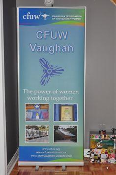 CFUW Vaughan #RetractableBanner