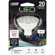 Feit Electric 20W Equivalent Warm White MR16 LED Light Bulb