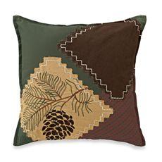 "Adirondack 17"" Square Toss Pillow"