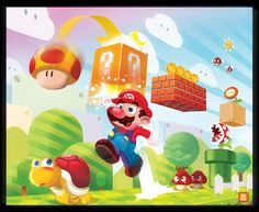 Super Mario Bros. Created by Tony Ganem
