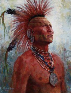 pawnee war paint.