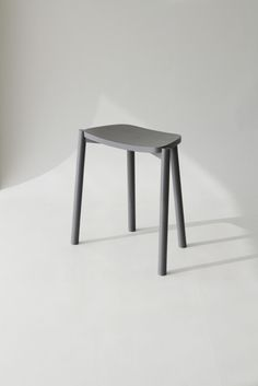 Trapezium is a minimalist design created by Taiwan-based designer Yenwen Tseng. Trapezium is an easy stool with unique trapeziform seat and . Small Furniture, Metal Furniture, Furniture Design, Chair Design Wooden, Wooden Chairs, Room Chairs, Minimalist Design, Designer, Trends