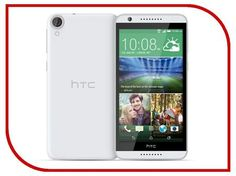 Сотовый телефон HTC Desire 820G Dual Sim White  — 8219 руб. —