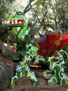 Tarot Garden- Capalbio, Tuscany http://www.tripadvisor.com/Attraction_Review-g1015997-d246545-Reviews-Tarot_Garden_Giardino_dei_Tarocchi-Capalbio_Province_of_Grosseto_Tuscany.html