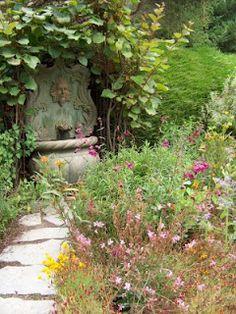 Cambria Pines Lodge secret garden @ I Love My Garden