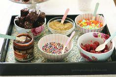 DIY Ice Cream Sundae Bar!