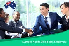 Australia calling for overseas skilled employees particularly in caring sector