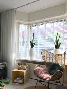 living room ideas – New Ideas My Workspace, Window Dressings, Blinds For Windows, Home Office Design, Sweet Home, New Homes, Living Room, Interior, Ramen