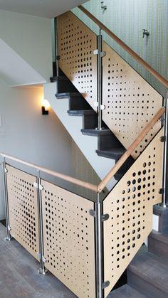 Custom Stair Railings, Gast Architects, San Francisco
