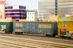 Graffitti is everywhere, even on these detailed HO scale trains, by Prr_Cabin, via Flickr