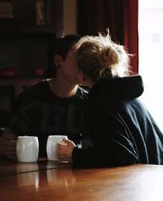 Just talking on a regular cold morning, having coffee dates, having talking…
