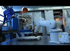 Glass Robotics Lab 3D prints glass with robots.
