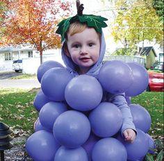 Déguisement raisin... trop mignon ;-)