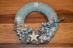 monika1651 / Venček Burlap Wreath, Wreaths, Pillows, Home Decor, Decoration Home, Door Wreaths, Room Decor, Burlap Garland, Deco Mesh Wreaths