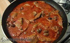 Paradicsomos hús recept fotóval Iron Pan, Food 52, Beef, Dutch Oven, Meat, Ox, Ground Beef, Steak