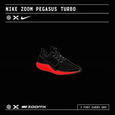 searchsystem: Ilovedust / Nike / Nike Running / We Fly / Zoom Pegasus Turbo / Graphics / 2019 Nike Running, Nike Zoom Pegasus, Nice Ideas, Communication Design, Motion Graphics, Hypebeast, Repeat, Cool Designs, Branding