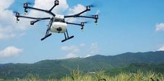 """DJI is continuing its aggressive push into multiple markets. Today it announced a """"smart"""" crop spraying drone, The DJI Agras for the agricultural market. DJI claims this drone will: Maserati, Ecuador, Crop Insurance, Pilot, Dji Phantom 3, Drone Quadcopter, Aerial Photography, New Toys, Technology"""
