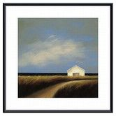 Found it at Wayfair - Road Past The Barn by Tjasa Owen Framed Painting Print