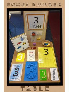Ideas for number station!