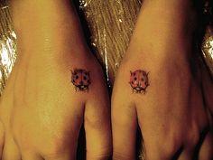 ladybirds tattoo. тату в новосибирске by Misha Mack TN, via Flickr