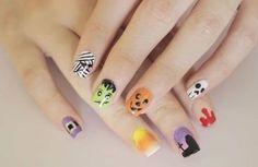 Nail Art Halloween 2015: Ideas de uñas locas