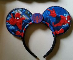 Spider-Man Mouse Ears