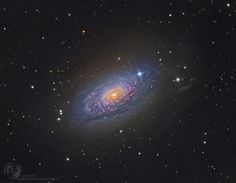 NASA's Astronomy Picture Of The Day: Messier 63: The Sunflower Galaxy