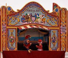 punch and judy, that show was messed up!